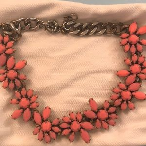 J. Crew pink/coral necklace